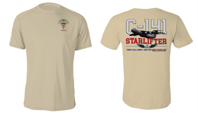 "4th Brigade Combat Team (Airborne) ""C-141 Starlifter"" Cotton Shirt"
