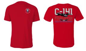 "82nd Hqtrs & Hqtrs Battalion  ""C-141 Starlifter"" Cotton Shirt"
