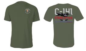 """82nd Signal Battalion  """"C-141 Starlifter"""" Cotton Shirt"""