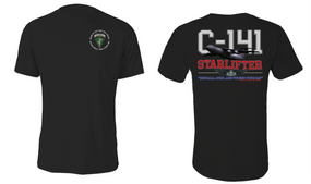 """US Army Civil Affairs & Psyops Command  """"C-141 Starlifter"""" Cotton Shirt"""