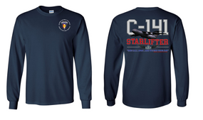 "Southern European Task Force (SETAF) ""C-141 Starlifter"" Long Sleeve Cotton Shirt"