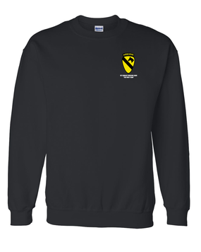 1st Cavalry Division (Airborne) Embroidered Sweatshirt