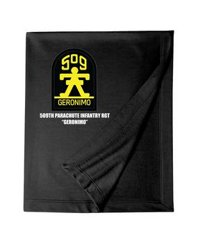 509th Parachute Infantry Regiment Embroidered Dryblend Stadium Blanket