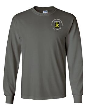 509th Parachute Infantry Regiment (C)  Long-Sleeve Cotton T-Shirt