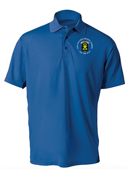 509th Parachute Infantry Regiment (C)  Embroidered Moisture Wick Polo  Shirt