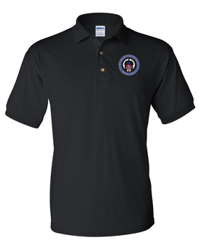 505th PIR   -Proudly Served- Embroidered Cotton Polo Shirt