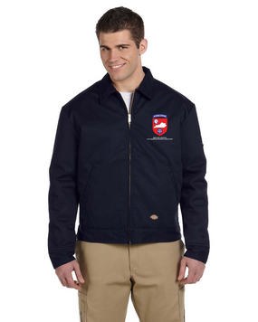 Kentucky Chapter (V1)  Embroidered Dickies 8 oz. Lined Eisenhower Jacket