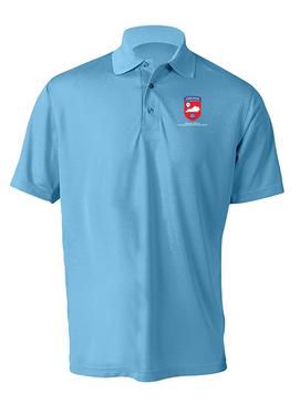 Kentucky Chapter (V1)  Embroidered Moisture Wick Polo Shirt