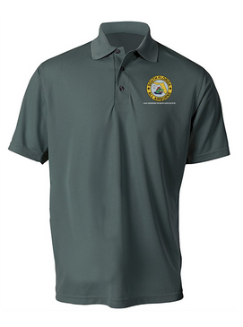 South Florida Chapter Embroidered Moisture Wick Polo Shirt