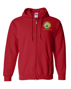 South Florida Chapter Embroidered Hooded Sweatshirt with Zipper