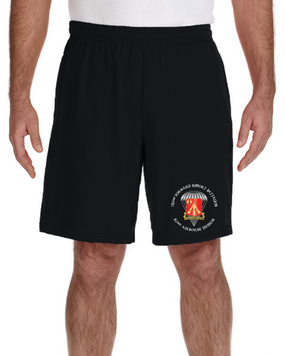 782nd Maintenance Battalion Embroidered Gym Shorts
