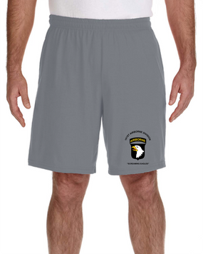 101st Airborne Division  Embroidered Gym Shorts