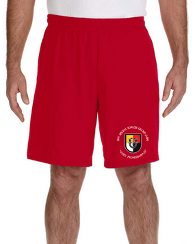 3rd Special Forces Group Embroidered Gym Shorts