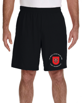 7th Special Forces Group Embroidered Gym Shorts