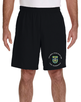 12th Special Forces Group  Embroidered Gym Shorts