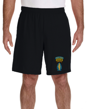 Triple Canopy Embroidered Gym Shorts