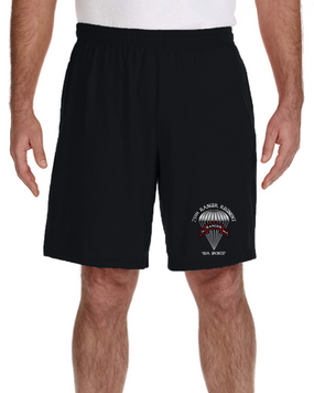 75th Ranger Regiment  Embroidered Gym Shorts