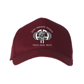 82nd Airborne Division Punisher Baseball Cap