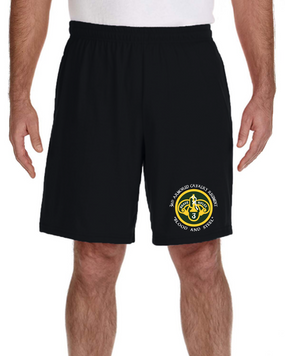 3rd Armored Cavalry Regiment Embroidered Gym Shorts