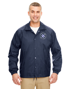 3rd Infantry Division Embroidered Windbreaker