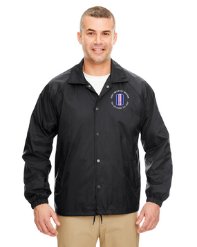 193rd Infantry Brigade Embroidered Windbreaker