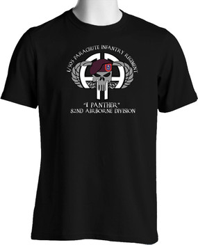 "1-505th  ""1 Panther""  Cotton Shirt (Full Front)"