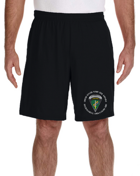 US Army Civil Affairs Embroidered Gym Shorts