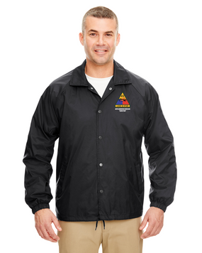 49th Armored Division Embroidered Windbreaker