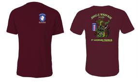 193rd Infantry Brigade (Airborne) Jungle Master JOTC Cotton Shirt