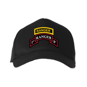 1-75th Ranger Battalion-Tab Baseball Cap