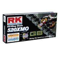 RK Chain 520XMO 120 Link Gold