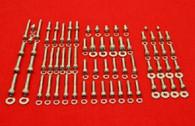 Honda CR500/R 85 - 01 Polished Stainless Steel Engine Bolt Kit