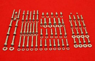 Honda CR250 Elsinore Polished Stainless Steel Engine Bolt Kit