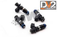 DeatschWerks DW DV2 1200cc Injectors for K & F Series - k20 k24 F22c