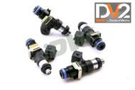 DeatschWerks DW DV2 1500cc Injectors for K & F Series - k20 k24 F22c