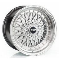 ESR SR03 Wheels in machined silver