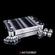 K-Tuned Billet RSX Shifter Base Plate - Mounted Above Tunnel (KTD-BIL-SHP)