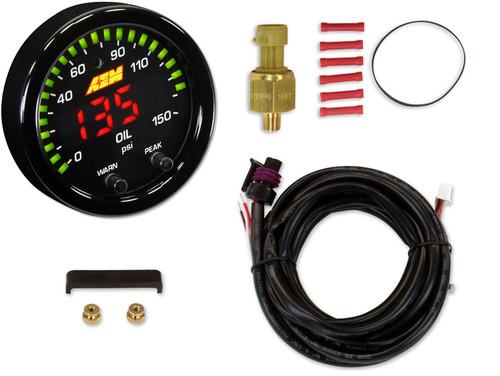 AEM X-Series Oil Pressure Digital Gauge Kit | 30-0307