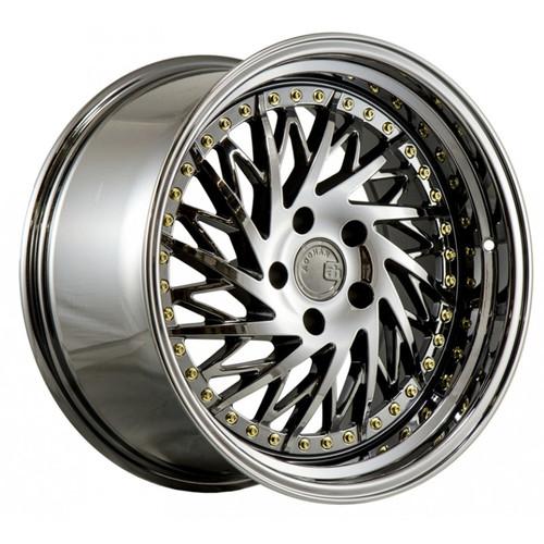 AodHan DS-03 Wheels Black Chrome