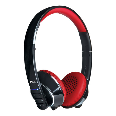 Runaway 4.0 AF32 Stereo Bluetooth Wireless Headphones with hidden microphone (Black/Red)