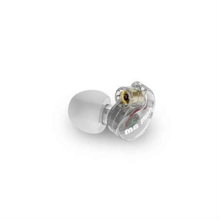 Replacement Earpiece for the M6 PRO In-Ear Monitors (Left) (Clear)