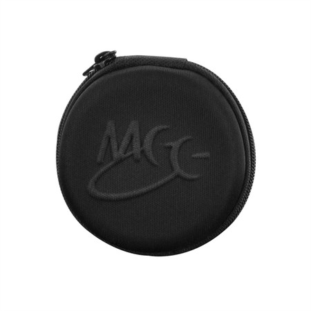 Neoprene Round Zipper Carrying Case for Earphones