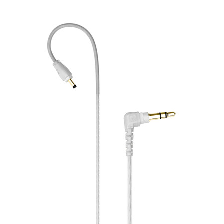 M6 PRO Stereo-to-Mono Audio Cable for Single-Ear Monitoring (Clear)