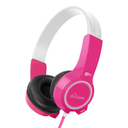 KidJamz KJ25 Safe Listening Headphones for Kids with Volume-Limiting Technology (Pink)