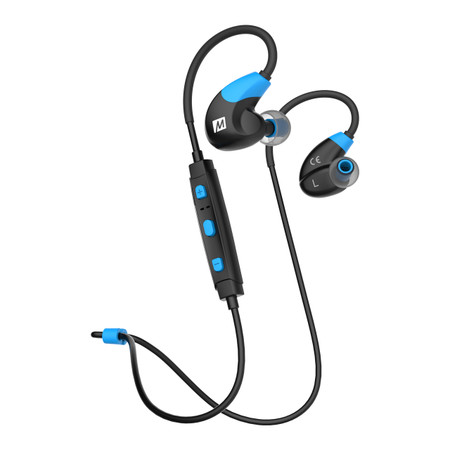 X7 Stereo Bluetooth Wireless Sports In-Ear Headphones  (Blue)