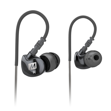 M6 Memory Wire In-Ear Headphones (Black)