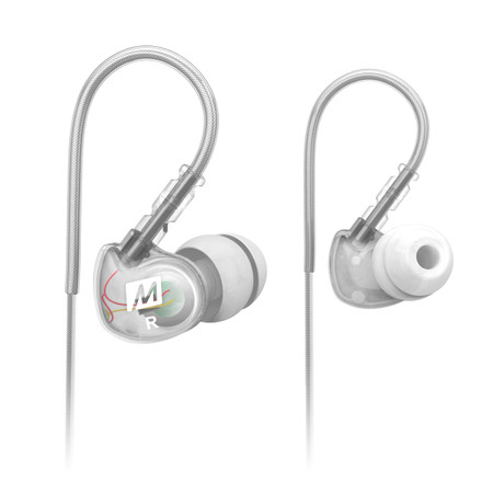 M6 Memory Wire In-Ear Earphones (Clear)