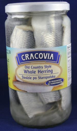 Old Country Style Whole Herring Sledzie po Staropolsku