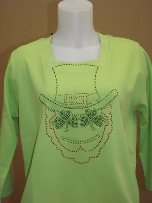 Leprechaun Knit Top