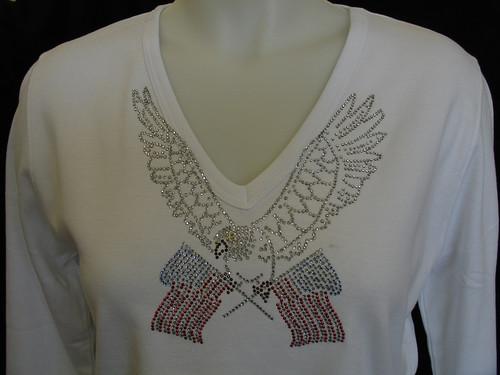 Red White Blue Eagle V